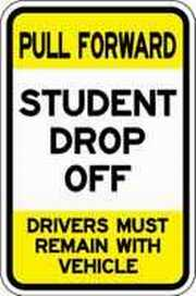 Bus Loop and Student Drop Off