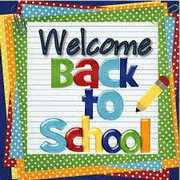 Welcome Back! School begins Tues. Sept. 6th