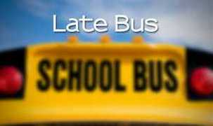 LATE BUS 3027 ON WED. OCT. 12, 2016